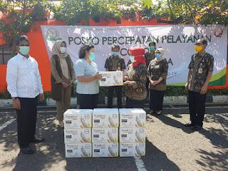 Jaksa 'Peduli Medis Tanggap Covid-19' Alumni 698 Salurkan APD Ke RSU Adhyaksa