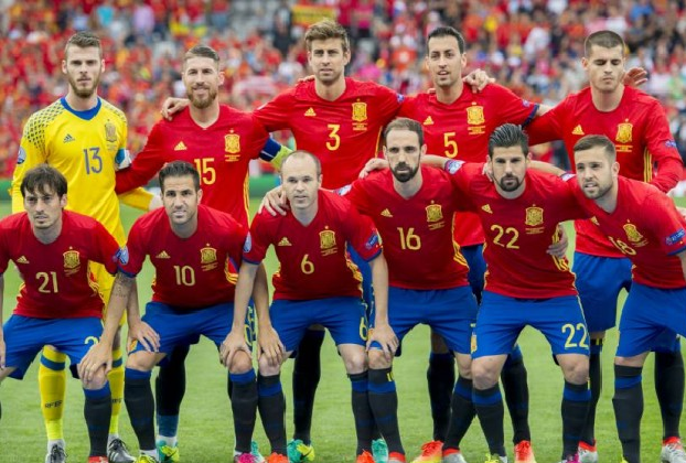 Spain FIFA world cup squad 2018