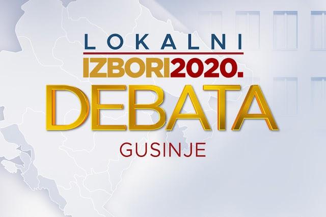 Večeras u 20h debata posvećena lokalnim izborima u Gusinju