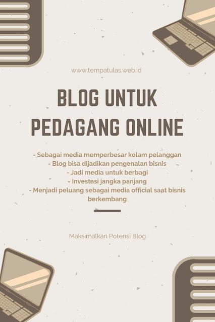 Blog online shop