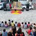 Em Picuí companhia Los Iranzi faz apresentação circense durante a semana das crianças 2019.