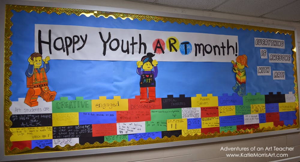 Adventures of an Art Teacher: Everything is Awesome- Lego ...