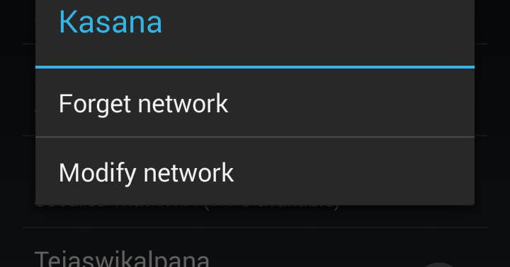 How to resolve Connected to WiFi but no internet access for Android