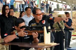 Pangdivif 2 Kostrad Resmikan Vicadha Shooting Range di Singosari Malang