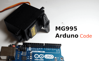Tutorial MG995 Servo Arduino Code Continuous Rotation TowerPro