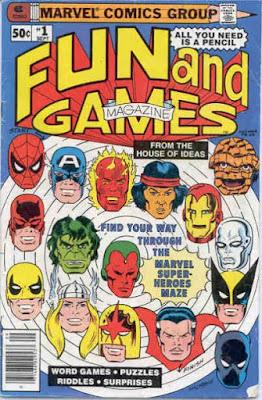Marvel Fun and Games Magazine #1