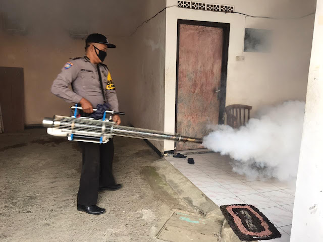 Dinas Kesehatan Purbalingga Laksanakan Fogging di Kalimanah