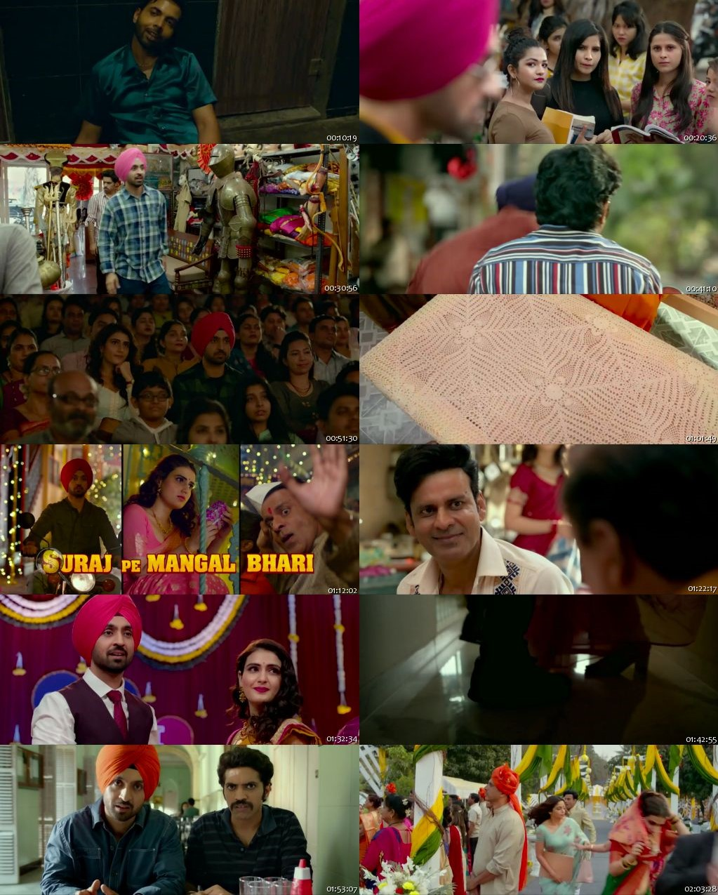 Suraj Pe Mangal Bhari 2020 Full Hindi Movie Online Watch HDRip 720p