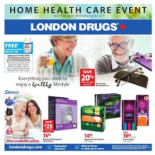 London drugs Canada flyer July 14 - August 2, 2017