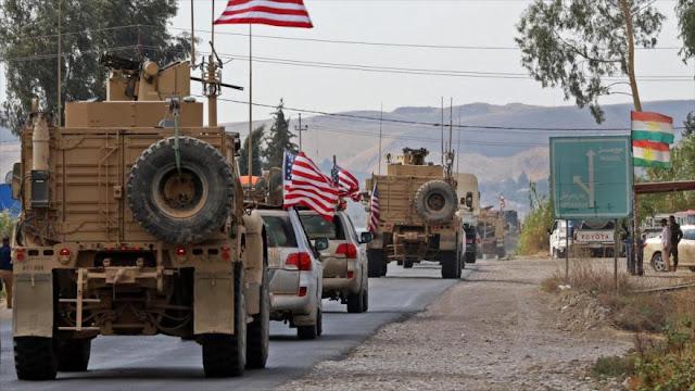 Atacan otro convoy militar de Estados Unidos en el centro de Irak