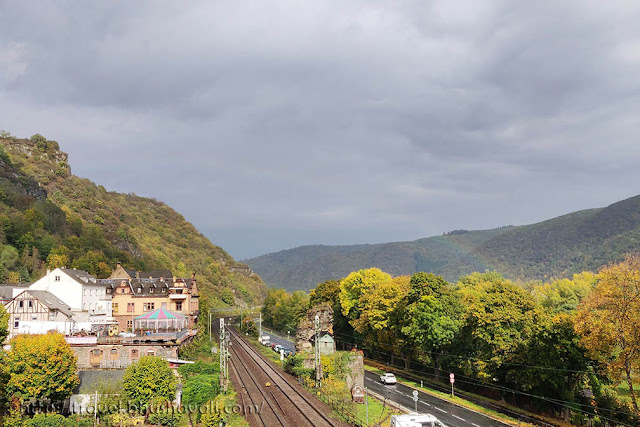 Bacharach - charming town in Rhine Valley