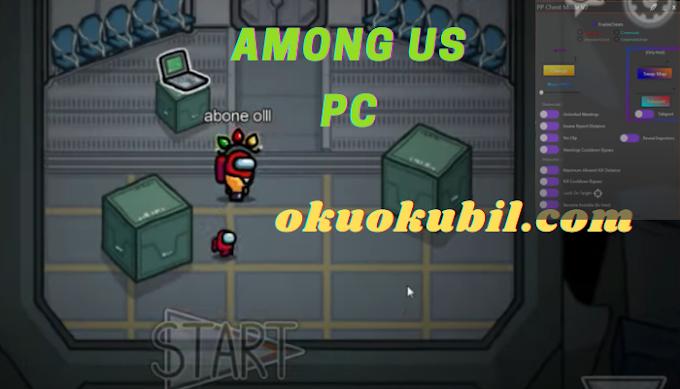 Among Us PC PP Cheat Menü v2 Hack Işınlanma, Hızlı Gitme İndir Aralık