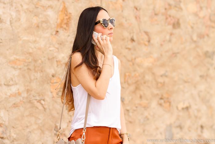 Influencer Moda Mujer España Look Urban Chic Sporty Carcasa iphone6 CASEAPP