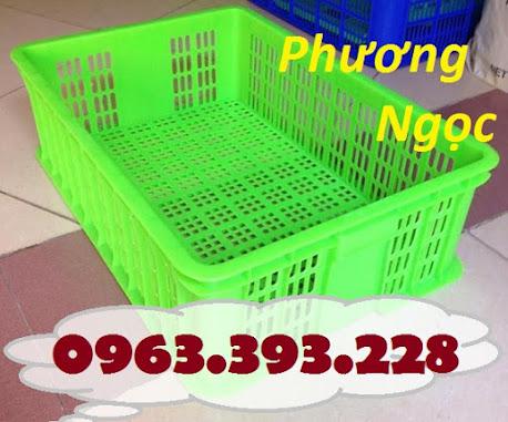 Sóng nhựa hở HS009, sọt nhựa rỗng HS009 cao 19, sóng nhựa công nghiệp SR194