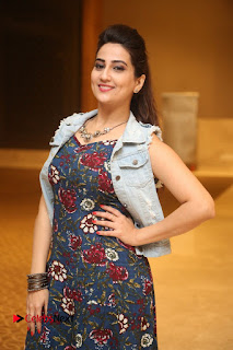Anchor Manjusha Latest Stills at Intlo Deyyam Nakem Bhayam Trailer Launch .COM 0139.JPG