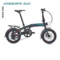 sepeda lipat pacific 2980rx 6.0 folding bike