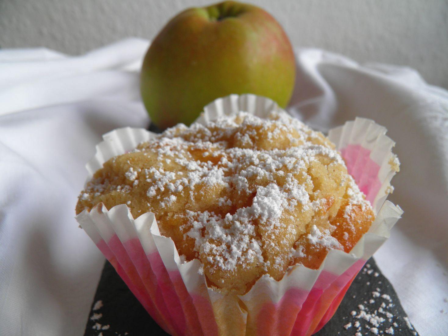 Lisacuisine Apfel Streusel Muffins Nach Dr Oetker