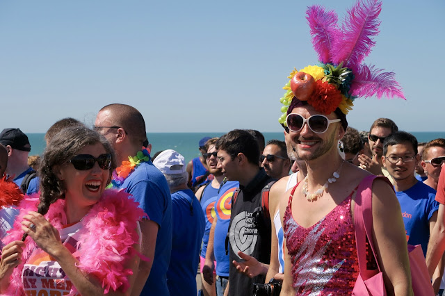 Brighton Pride by Laura Lewis
