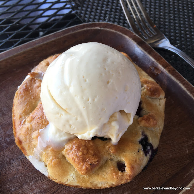 fruit crostata at Bellanico Restaurant & Wine Bar in Oakland, California