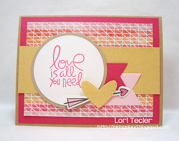 Love Is All You Need-designed by Lori Tecler-Inking Aloud-stamps from Paper Smooches