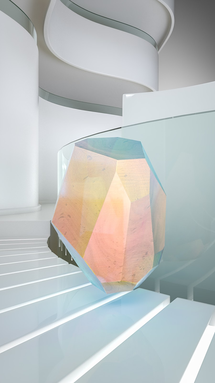 Crystals in home decor