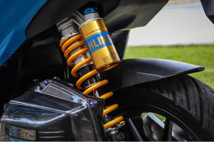 Bất ngờ với bản độ Honda Vario 150 cực tâm huyết