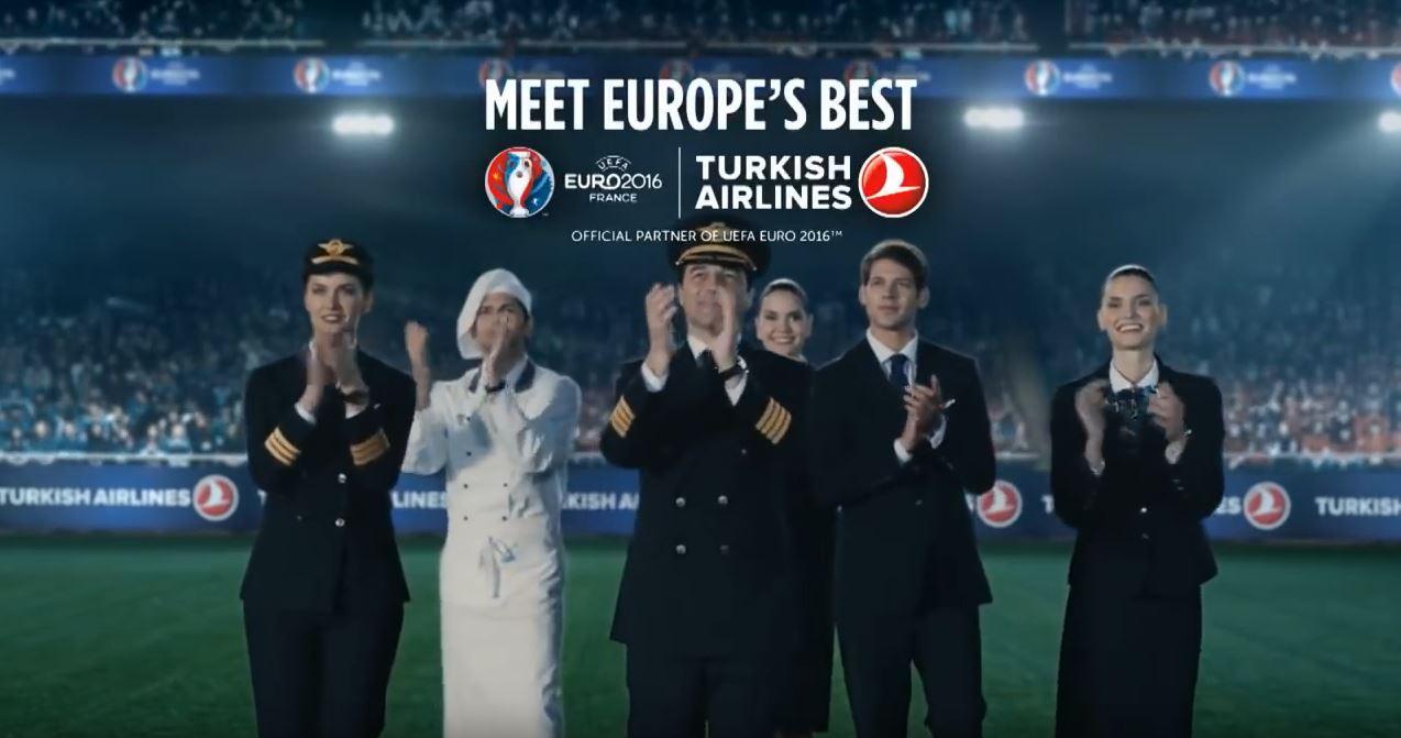 Canzone Pubblicità Turkich Airlines (spot Europei 2016)