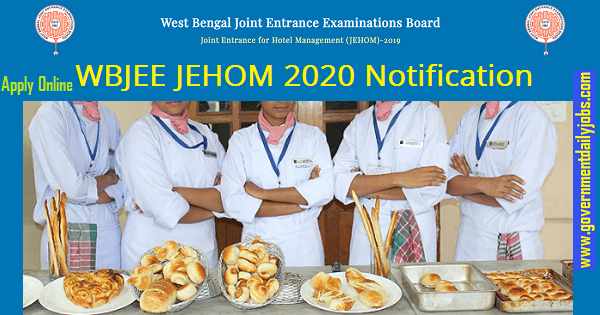 WBJEE JEHOM 2020 – Entrance Exam Date