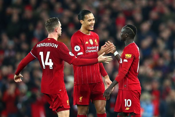 Video Cuplikan Gol: Liverpool 1-0 Wolverhampton (Premier League)