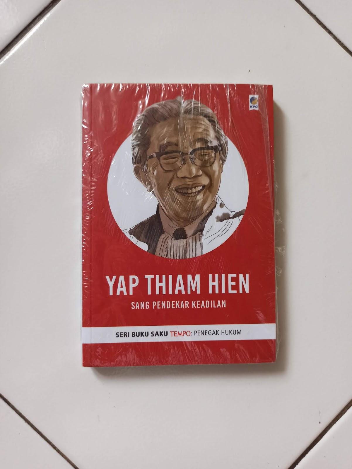 Buku Yap Thiam Hien Sang Pendekar Keadilan