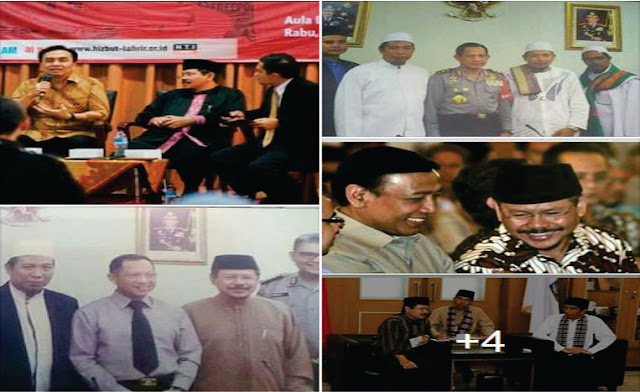 Beredar Foto Pejabat Negara Mesra Dengan Pimpinan HT