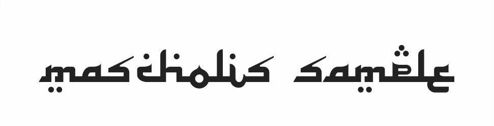 font untuk desain project bulan ramadhan dan idul fitri