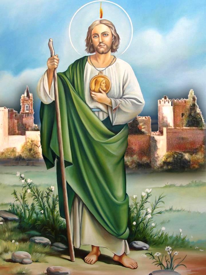 Oracion A San Judas Tadeo Para Casos Dificiles Y Desesperados Oraciones A Los Santos