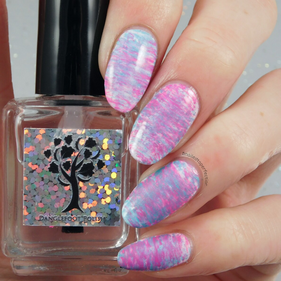B Nailed To Perfection: 40 Great Nail Art Ideas - Pink and Aqua ...