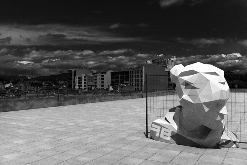 David-Mesguich-04 Deserted Boulevard Sculptures through David Mesguich Design