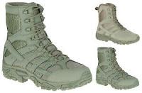 """Merrell MOAB 2 Men's 8"""" Sage Green Tactical Boots"""