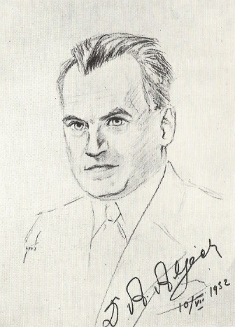 El ajedrecista Alexander Alekhine