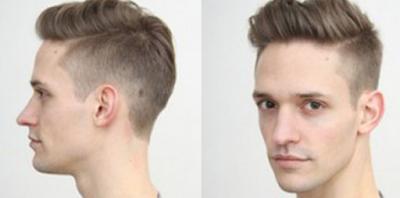 Potongan Rambut Lelaki Dengan Bentuk Wajah panjang