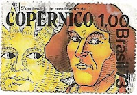 Selo 5º Centenário do Nascimento de Nicolau Copérnico