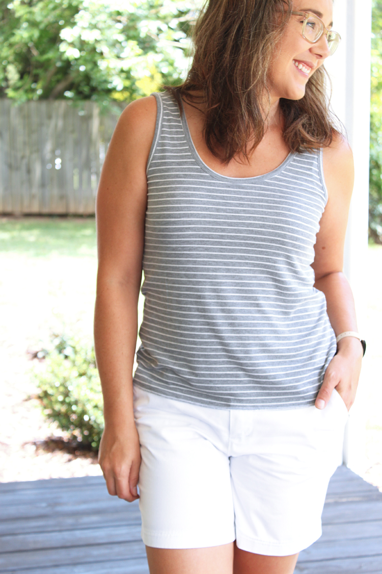 Summer Basics Tank // Sewing For Women