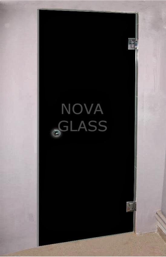Πόρτα με κρύσταλλο lacobel