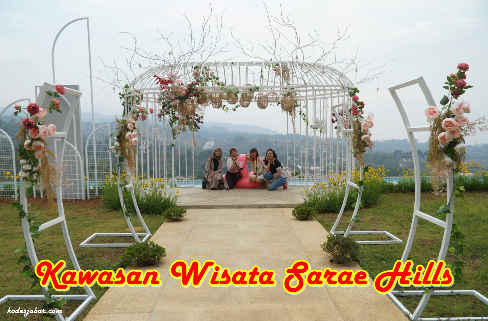 Sarae Hills, Kawasan Wisata Terpadu Paling Favorit di Bandung