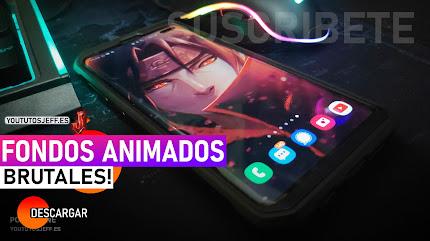 Como Poner FONDOS DE PANTALLA ANIMADOS en Android o iOS