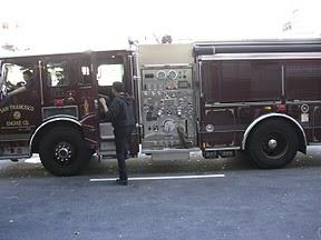 san francisco fire engine
