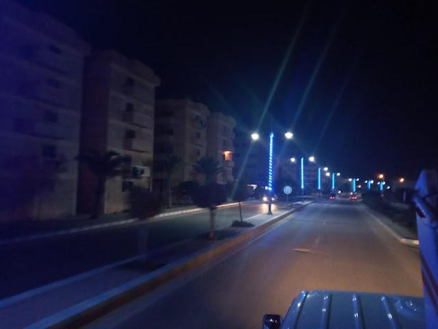 رئيس مدينة مرسى مطروح رفع 350 طن قمامة وتركيب افرع الليد الزرقاء ليلا بأعمدة الانارة