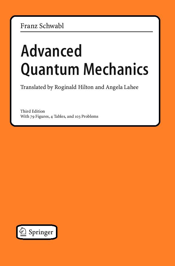 pdf book advanced quantum mechanics house of physics rh houseofphi blogspot com Quantum Mechanics Sakurai Picture of Advanced Quantum Mechanics Math