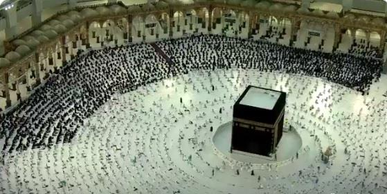 For The First Time Since The Start Of The Corona … The Tawaf In The Grand Mosque Is Full