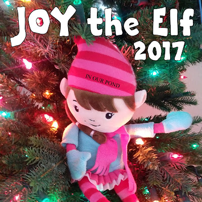 Joy the Elf's Adventures 2017 #elfontheshelf