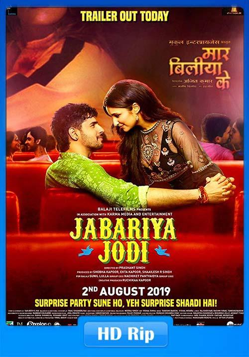Jabariya Jodi 2019 Hindi 720p HDRip x264 | 480p 300MB | 100MB HEVC Poster