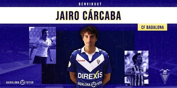 Oficial: CF Badalona, firma Jairo Cárcaba